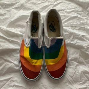 rainbow vans, exclusive, PRIDE
